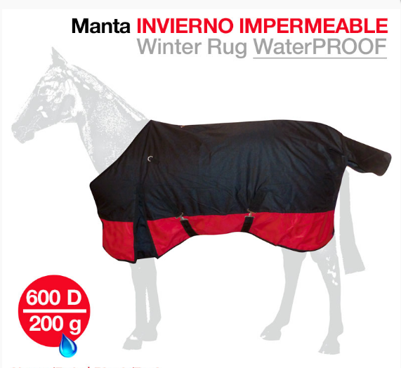 MANTA INVIERNO IMPERMEABLE 600 DR