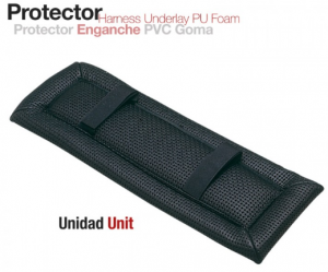 PROTECTOR ENGANCHE PVC GOMA 15 mm