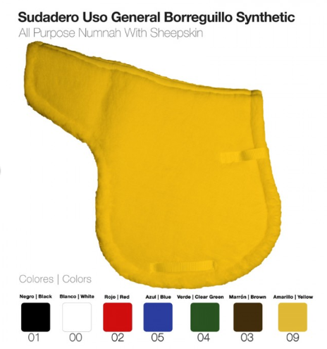 SUDADERO USO GENERAL BORREGUILLO SYNTHETIC