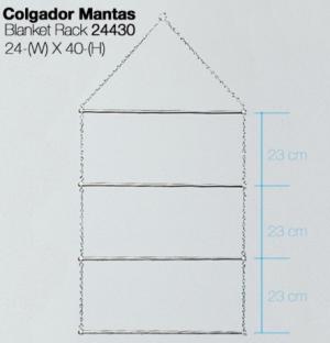 COLGADOR MANTAS