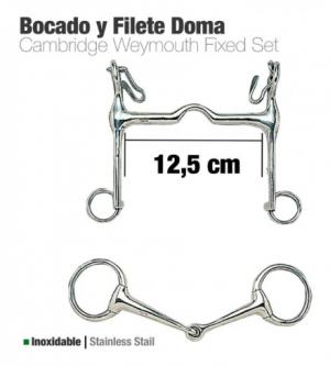 BOCADO Y FILETE INOX DOMA