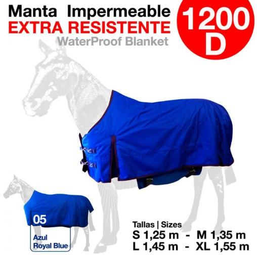 MANTA IMPERMEABLE EXTRA RESISTENTE 1200 D